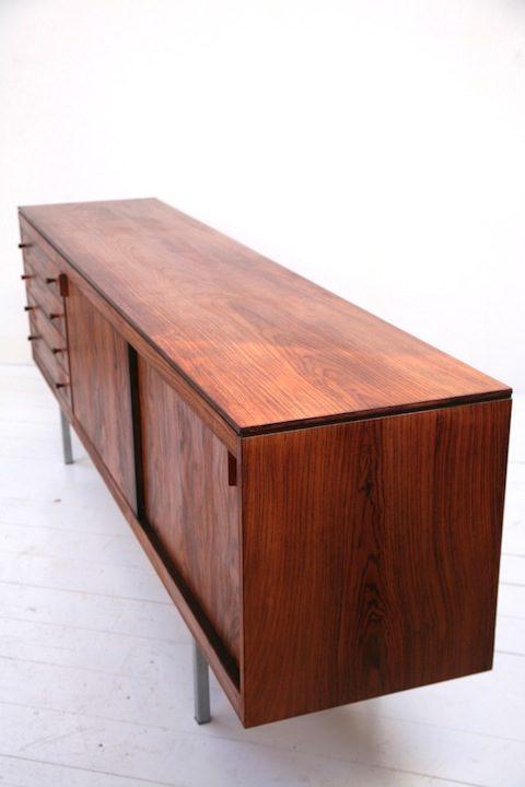 Vintage 1970s Rosewood Sideboard