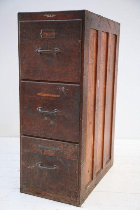 Vintage Advance Filing Cabinet
