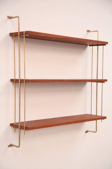 Vintage Teak Shelves