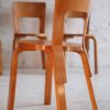 1930s Model 66 Chairs Designed by Alvar Aalto for Finmar 1