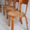 1930s Model 66 Chairs Designed by Alvar Aalto for Finmar 3
