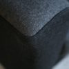 1950s Sofabed in Grey and Black Wool5