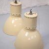 Large Industrial Cream Light Shades 2