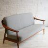 Teak Sofa by Illum Wikkelso for Soren Willedsen Denmark