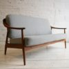 Teak Sofa by Illum Wikkelso for Soren Willedsen Denmark1