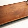 1930s Art Deco Walnut Side Table2