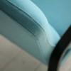 1950s Blue Wool Armchair 4