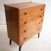 1950s Walnut Chest of Drawers 1