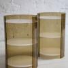 1960s Plastic Bedside Tables