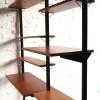1960s Teak Pira Shelving Room Divider