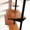 1960s Teak Pira Shelving Room Divider2