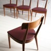 1960s Walnut Dining Chairs