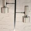 1970s Brushed Aluminium Floor Lamp