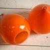 1970s Orange Light Shades 1