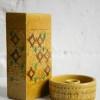 Bitossi Vase and Candle Holder