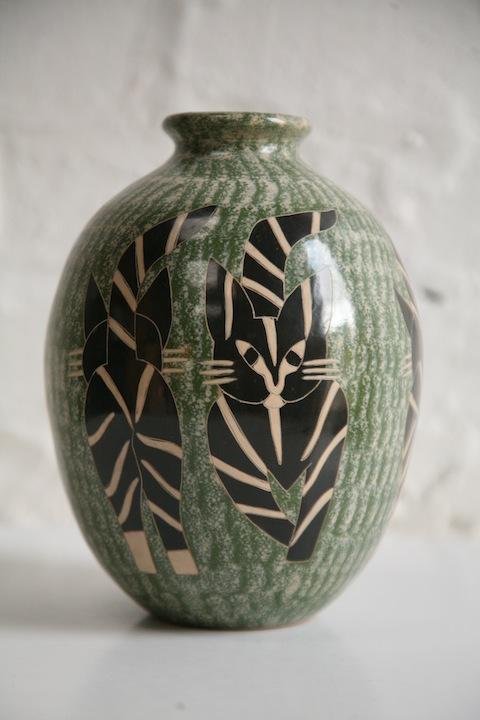 Ceramic Vase by Juan Paulino Martinez
