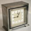 Chrome Deco Mantle Clock1