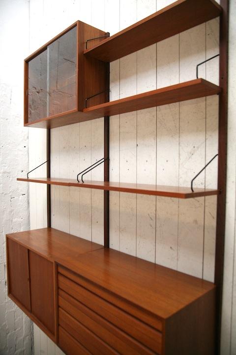 Danish Teak Storage System by Poul Cadovious No1