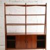Large Teak Room Divider Bookcase2