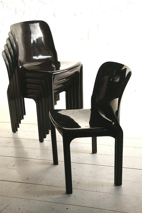 Magestretti 'Selene' Chairs