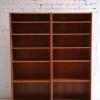 Pair of Danish Teak Bookcases 1