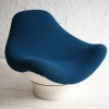 Rodica Lounge Chair Designed by Mario Brunu for Comfort, Italy in 1968 1