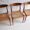 Set of 4 Dining Chairs by Arne Hovmand-Olsen for Mogens Kold Denmark2