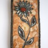 Wye Pottery Flower Wall Plaque