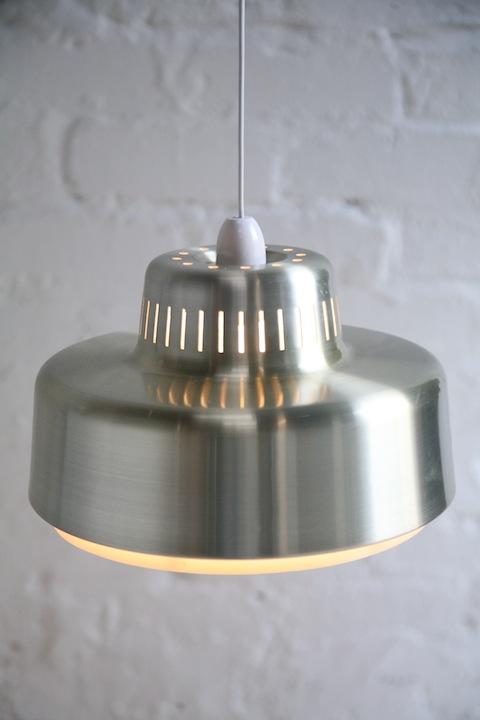 1970s Aluminium Light Shades