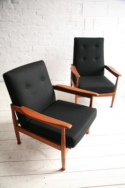 Guy Rogers Manhattan Armchairs