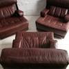 Tetrad Leather Chairs : Sofa