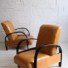 1930s Leather Armchairs