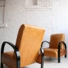 1930s Leather Armchairs 4