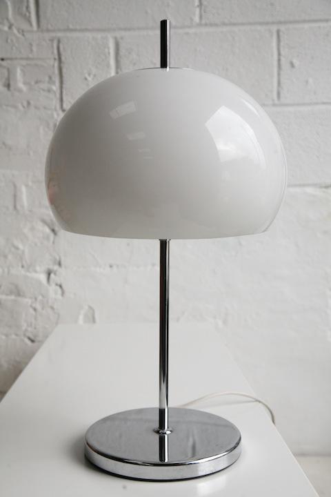 1970s Mushroom Table Lamp