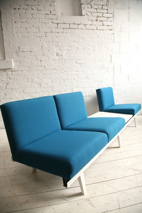 George Nelson Steel Framed Sofa