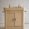 1950s Cast Iron Freestanding Sink by Augustan 1