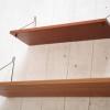 Pair of Teak 1960s Shelves 2