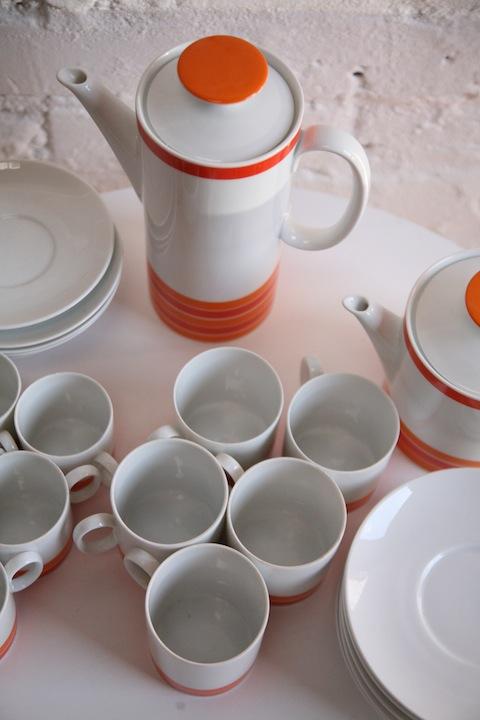 Thomas Tea and Coffee Set - Orange