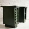 Vintage Industrial Green Metal Desk