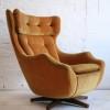 1960s Parker Knoll 'Statesman' Swivel Chair
