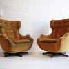 1960s Parker Knoll 'Statesman' Swivel Chair2