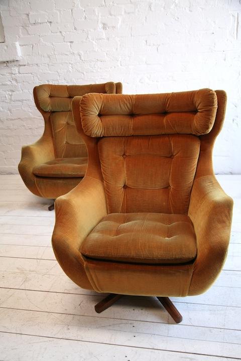 1960s Parker Knoll 'Statesman' Swivel Chair3