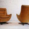 1960s Parker Knoll Swivel Chair3