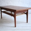 1960s Teak Danish Coffee Table by Trioh 1