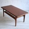 1960s Teak Danish Coffee Table by Trioh