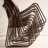 Set of 10 Industrial Stacking Chairs 3
