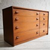 Teak Chest of Drawers by Stag