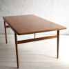 Teak Dining Table by Niels Moller