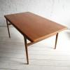 Teak Dining Table by Niels Moller 1