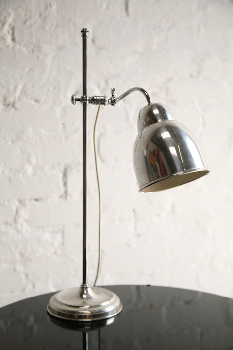 Vintage Chrome Desk Lamp